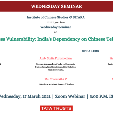 Countering India's Dependence on Chinese Telecom